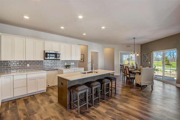 1391 Overlook Circle, kitchen - Halen Homes