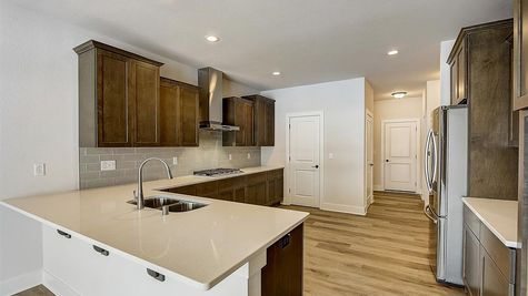 1207 E Sweetbriar Ln, kitchen - Halen Homes