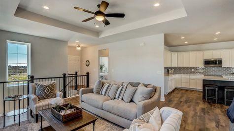 1391 Overlook Circle, open floor plan - Halen Homes