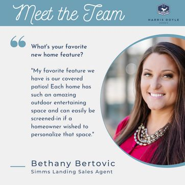 <p>Get to know our Simms Landing Agent, Bethany.<br/></p>