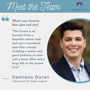 <p>Get to know our newest sales agent, Damiano!<br/></p>