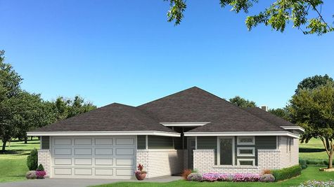 Homes by Taber Hunter B Elevation- Green