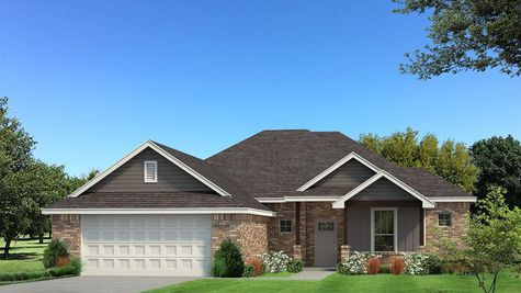Homes by Taber Jameston Brick Elevation