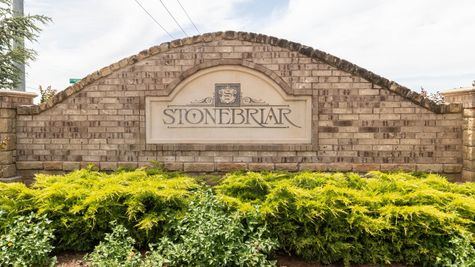 Homes by Taber Stonebriar Entrance