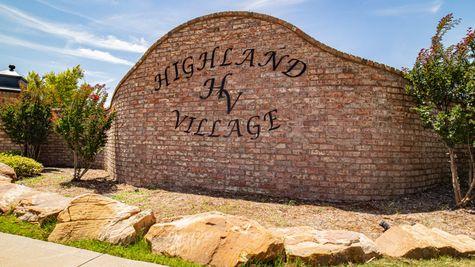 Homes by Taber Highland Village Entrance