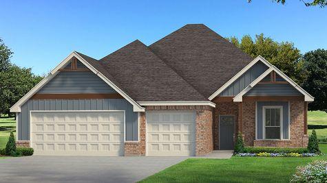 Homes by Taber Example of Mallory Bonus Room Floorplan
