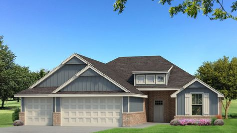 Homes by Taber Example of Hummingbird Floorplan with Siding
