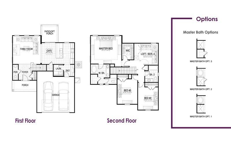 Dillon I Floor Plan