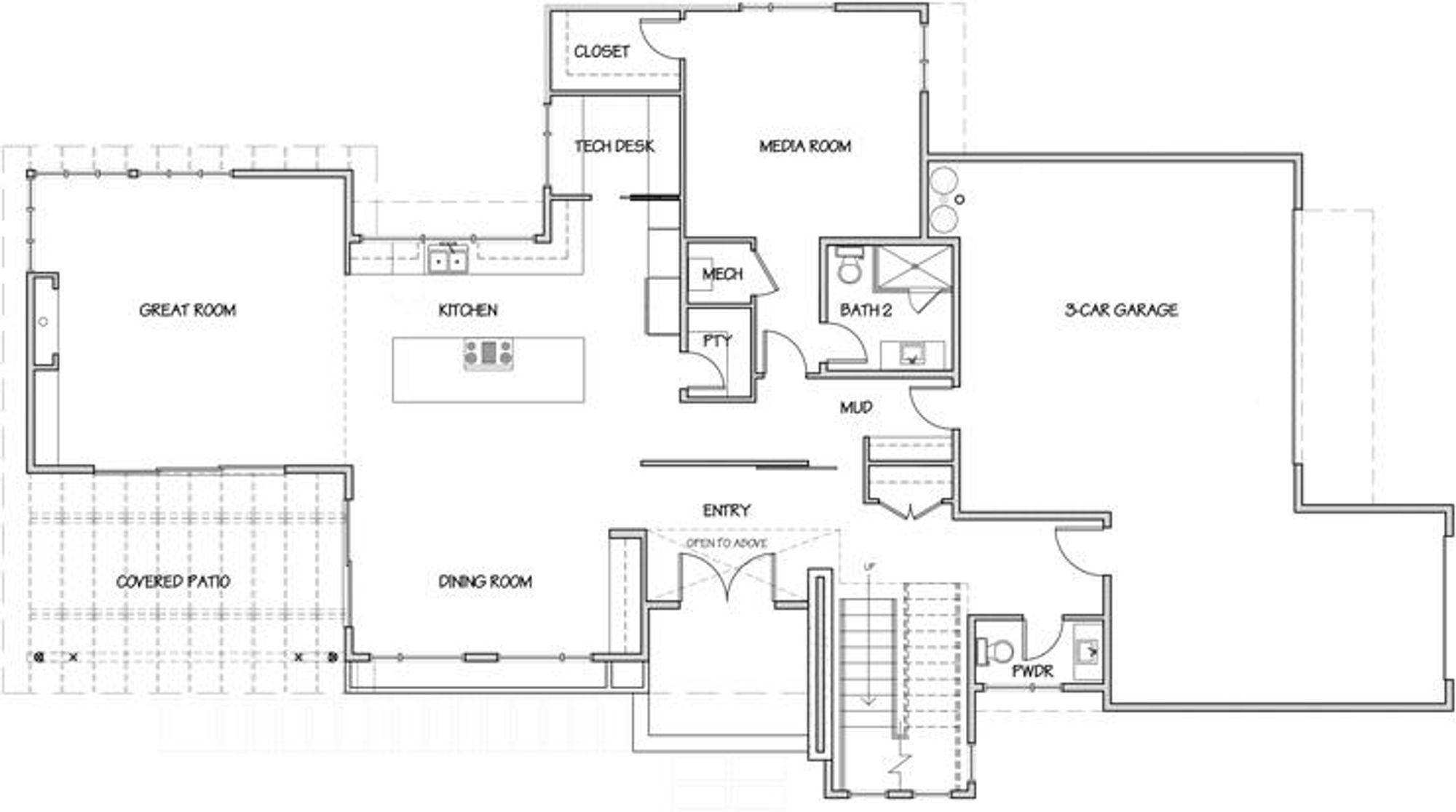 Singapore Main Floor Plan