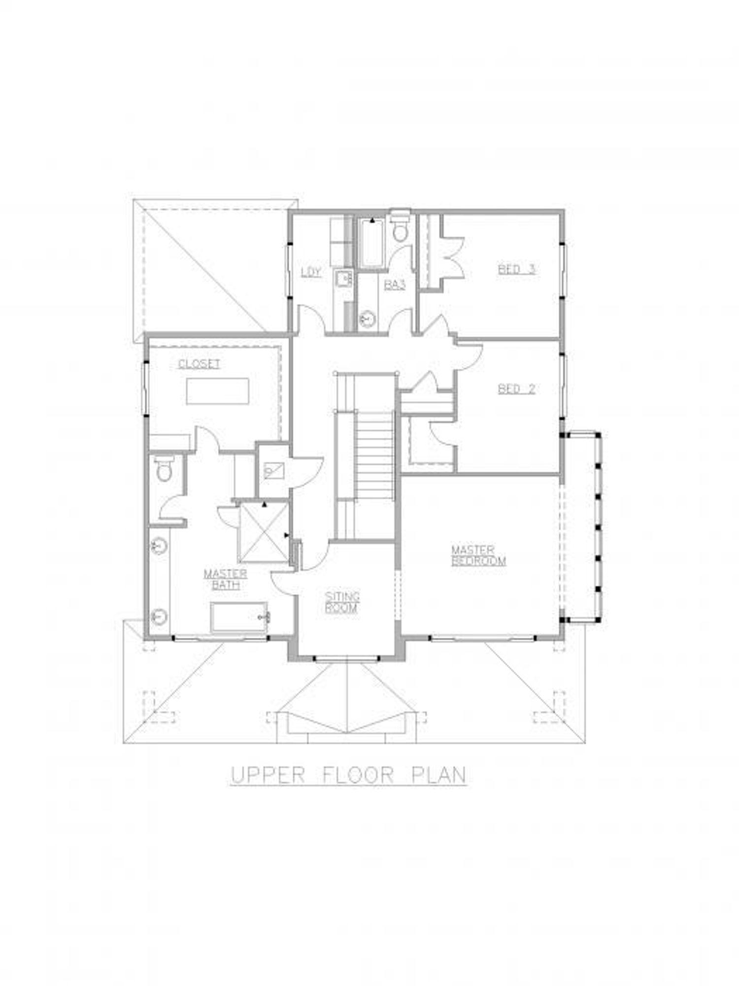 Mozart Upper Floor Plan