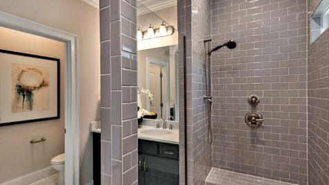 Master Bathroom - Warwick Plan (extended shower specific to Waters Edge)