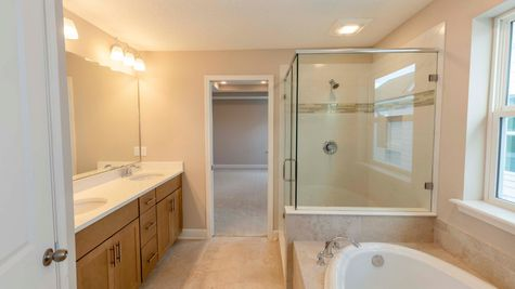 The Fanning at Liberty Cove Lot 53 Owner's Bath