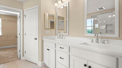 PV119 Fanning Owners Bath Vanity