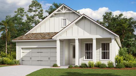The Royal Florida Farmhouse Elevation 11