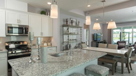 The Apopka Model at Liberty Cove Kitchen