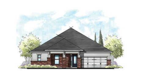 The Ellaville at Crosswater Prairie Elevation 1