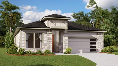 The Ginnie Modern Prairie Elevation 3