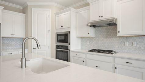 PV119 Fanning Kitchen Countertop