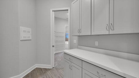 CO251 Magnolia Laundry Room Cabinets