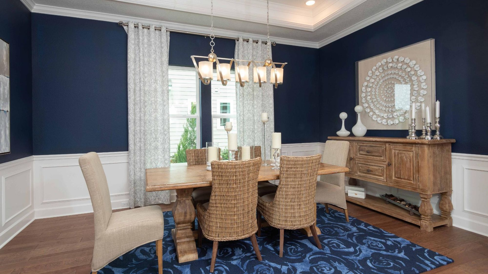 The Magnolia Model Dining Room