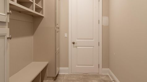 The Collier at Lot 278 in The Outlook Mudroom Cabinets