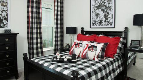 The Ellaville Model Home - Bedroom 2