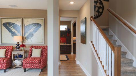 Juniper Model Living Room