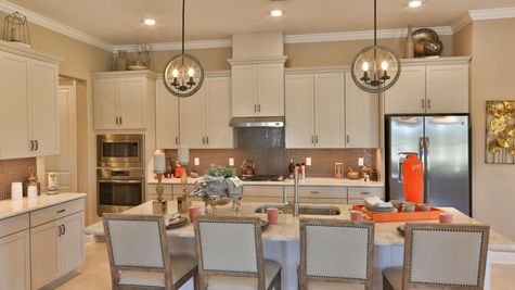 Ellaville Model - Kitchen Island