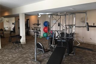 The Lower Level features Free-weights, weight machines, balls, jump ropes and kettle bells.