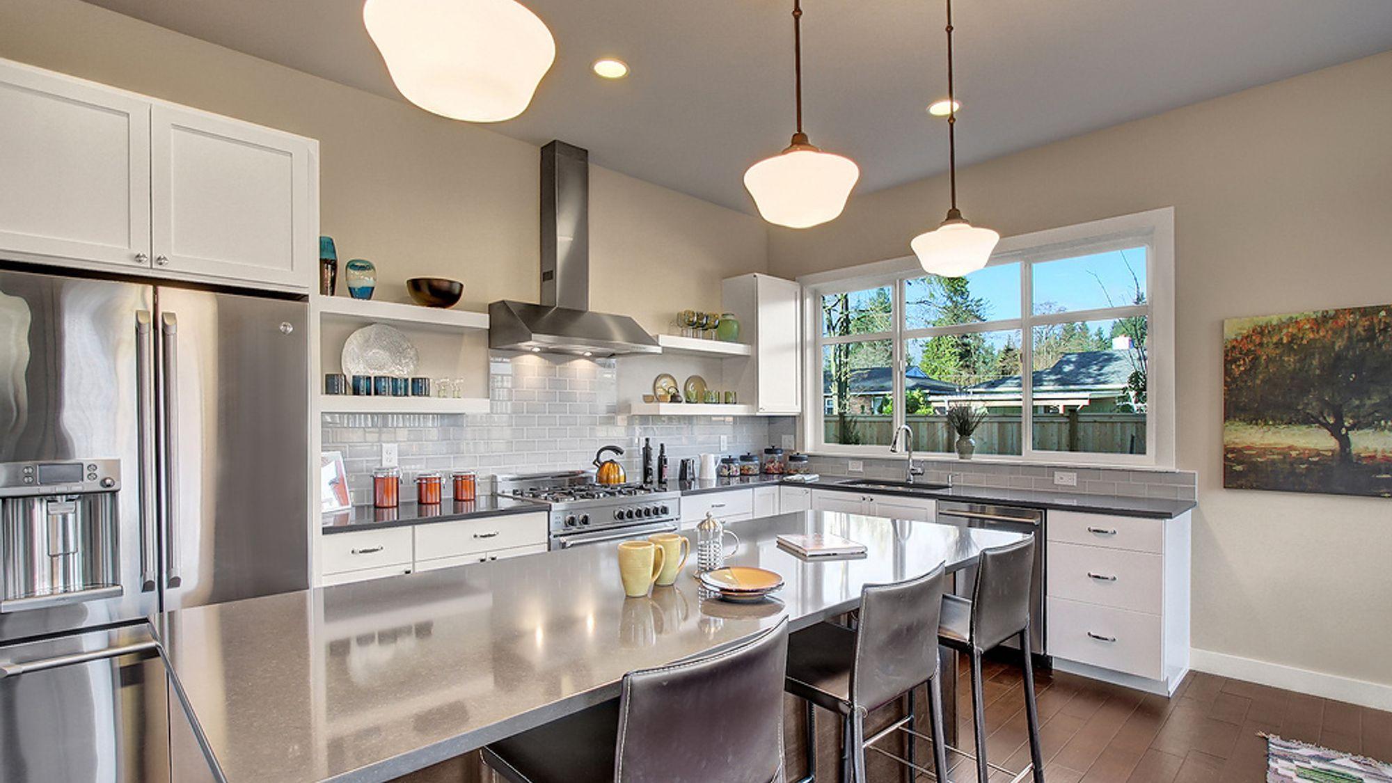 Kitchen by Sage Homes Northwest