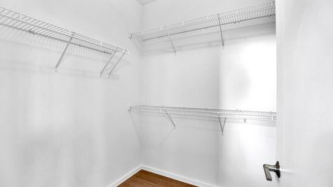 Master Walk-In Closet of 926 N. 35th Street in Fremont by Sage Homes Northwest