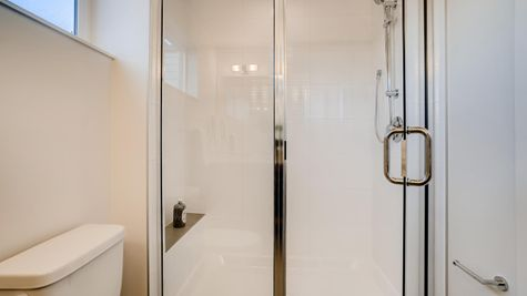 Master Shower of 7626 6th Ave NW in Phinney Ridge by Sage Homes Northwest