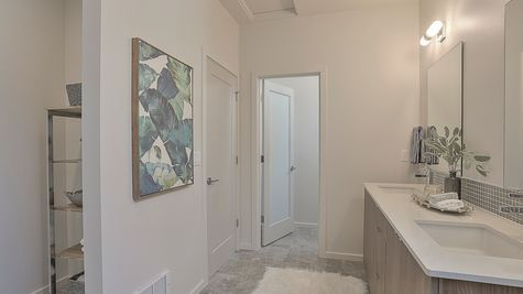 Bathroom of 64th in Ballard by Sage Homes Northwest