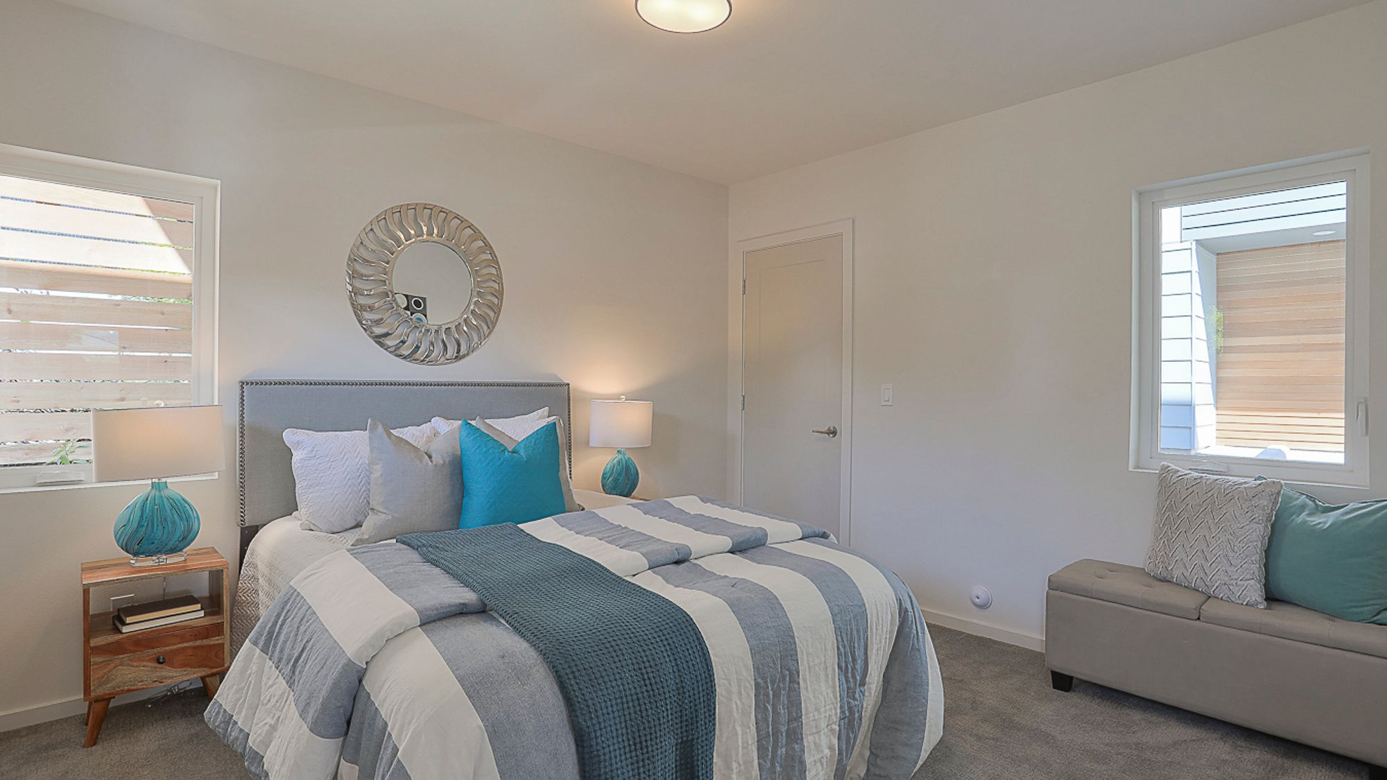 Master Bedroom at 2436C NW 64th Street at the Heim in Ballard by Sage Homes Northwest