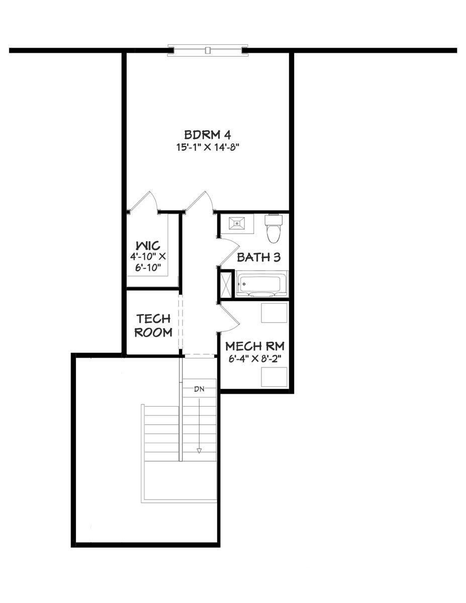 Tripletail II Floor Plan - 2nd Floor