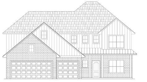 1396 Hickory Trail Elevation