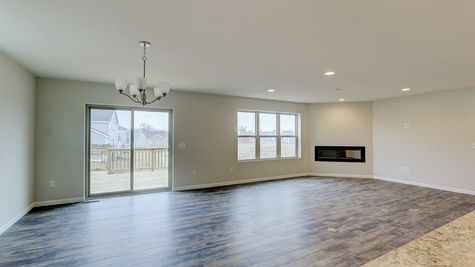 Great Room and Dinette