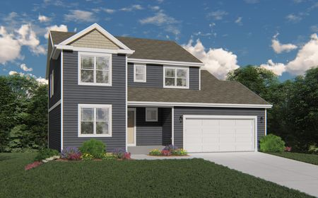 Rendering of 965 Clover Lane Traditional Elevation