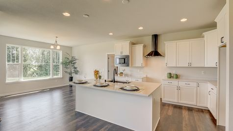 Kitchen and Dinette of Juniper Ready Home