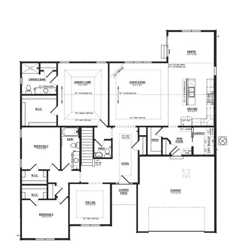 Sage First Floor Plan Drawing