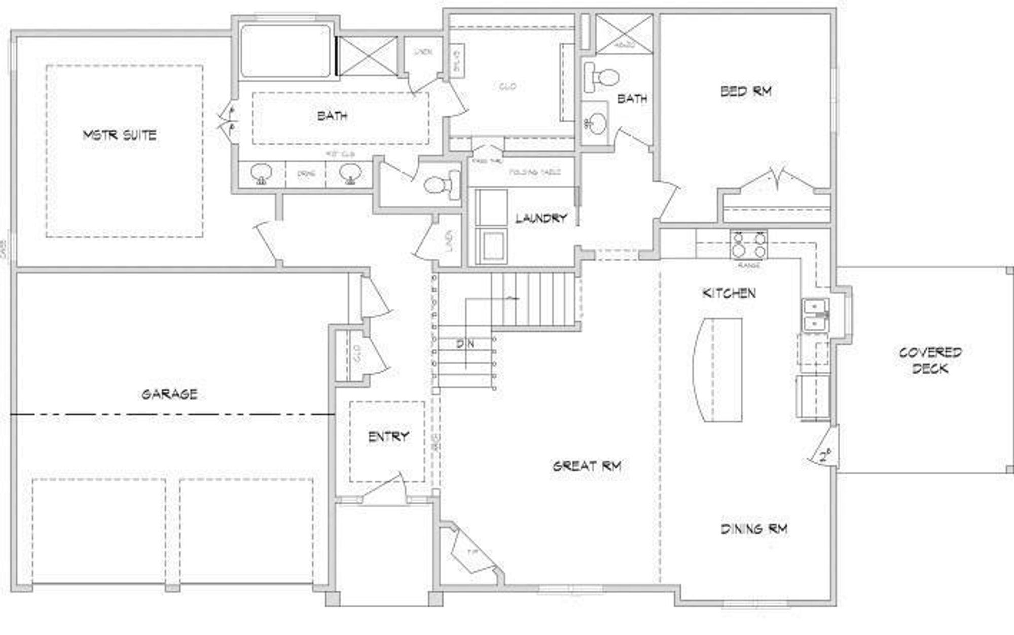 Bedford II ML Floor Plan